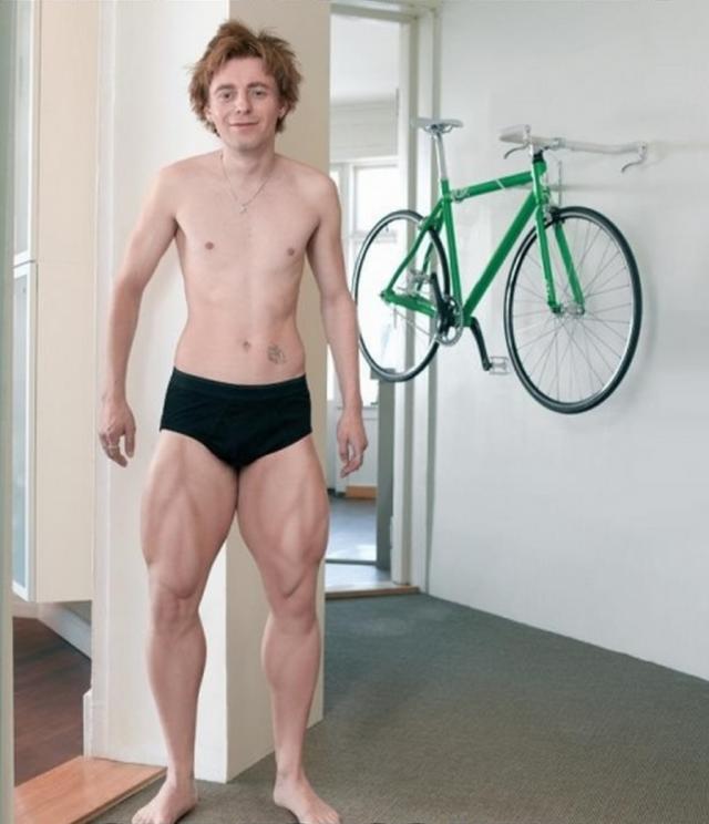 Lihasten epätasapaino pyöräilijällä