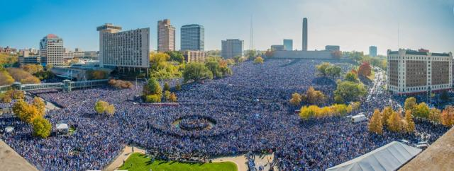 Kansas City Royalsin mestaruusparaati